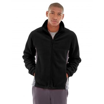Orion Two-Tone Fitted Jacket-XS-Black