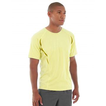 Zoltan Gym Tee-L-Yellow