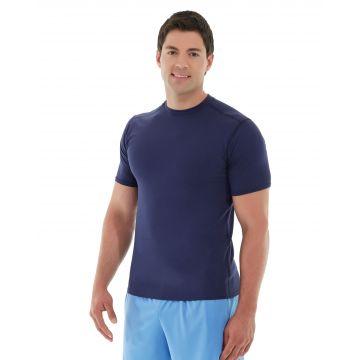 Logan  HeatTec® Tee-XS-Blue