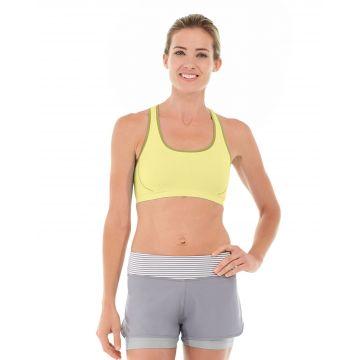Erica Evercool Sports Bra-XS-Yellow