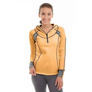 Cassia Funnel Sweatshirt-M-Orange