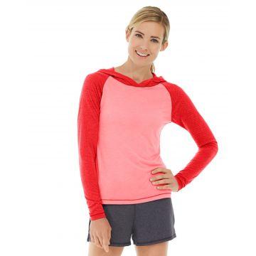 Ariel Roll Sleeve Sweatshirt-XS-Red